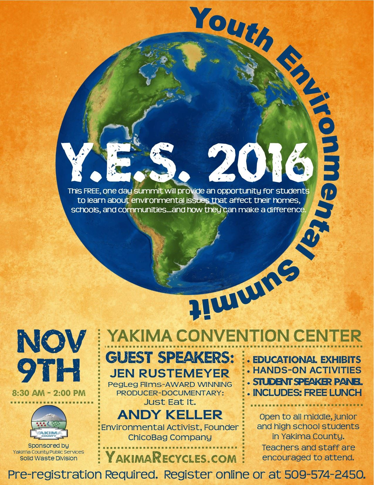 2016 YES Final poster