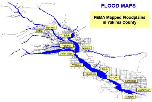 flood maps yakima county wa