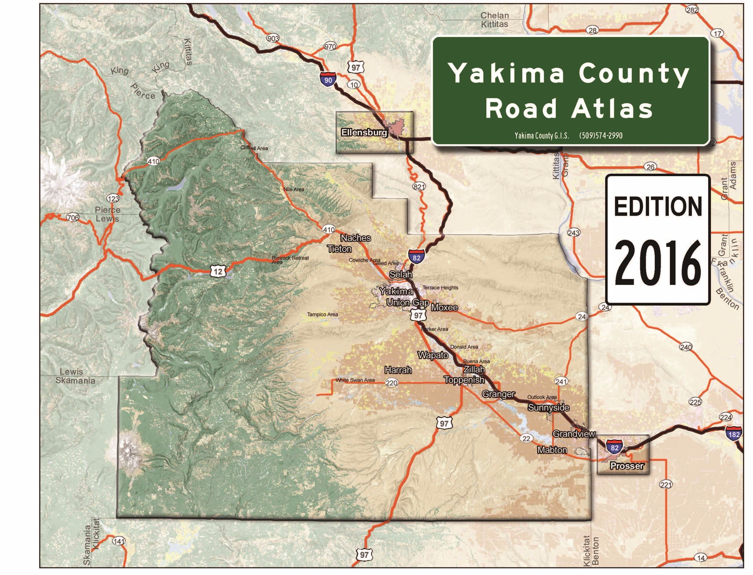 Road Atlas 2016 Cover