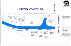 Engineering Yakima County Road Map