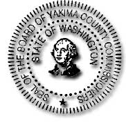 Seal of the Board of Yakima County Commissioners State of Washington