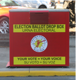 Election Ballot Drop Box
