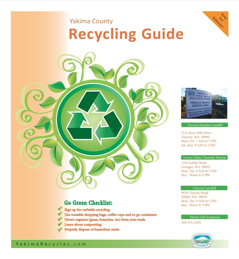 2015 English Recycling Guide Yakima County