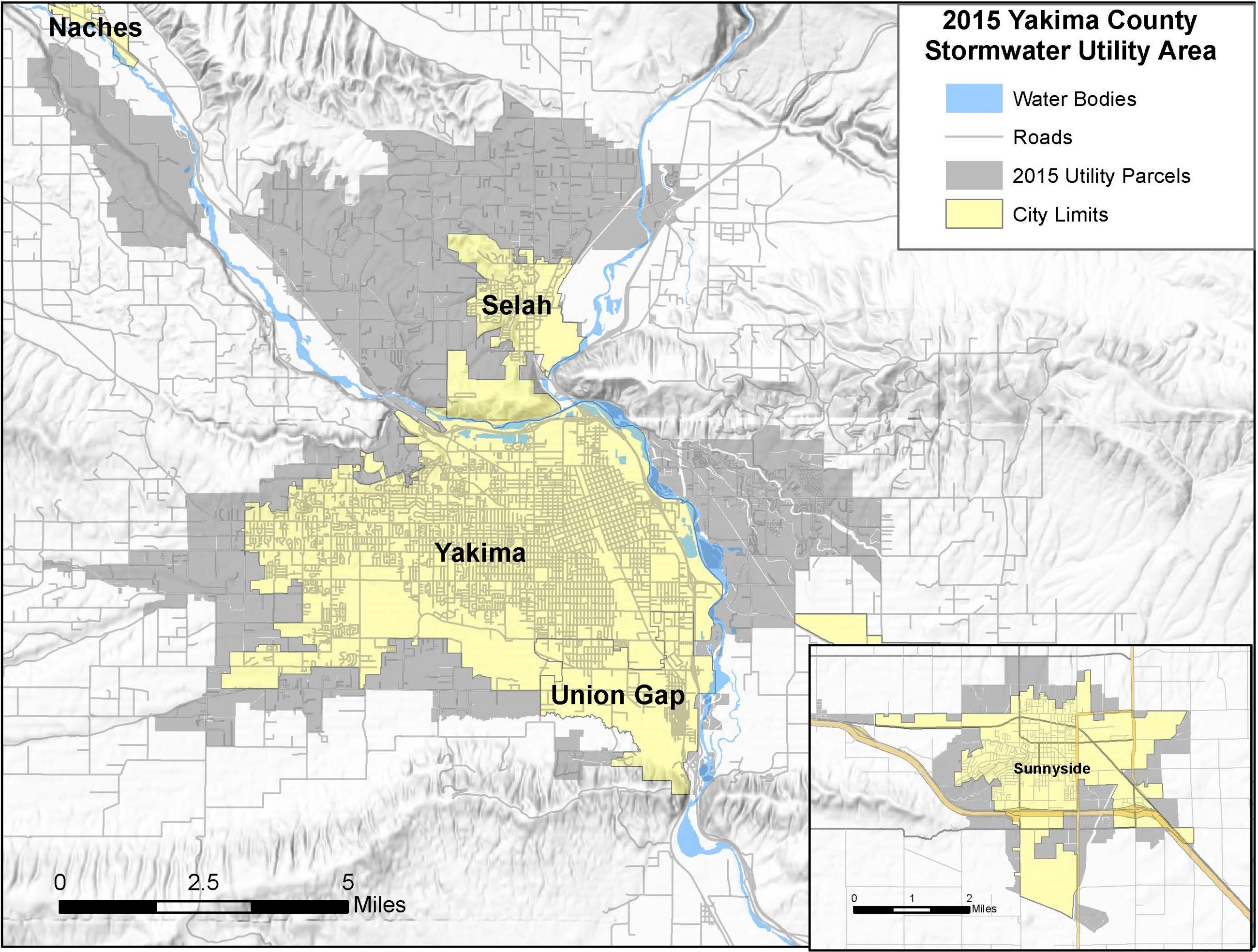Maps Yakima County Wa
