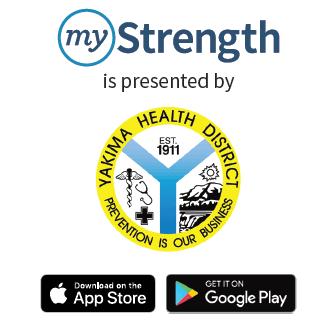 YHD logo with myStrength logo