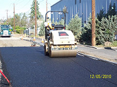 Rolling the Porous Asphalt