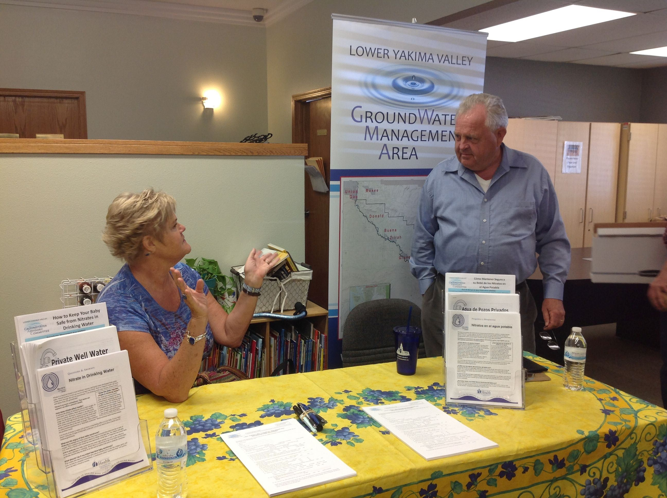 Inspire Health Fairs Sunnyside_Pat and Jim